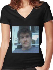 bo burnham Women's Fitted V-Neck T-Shirt