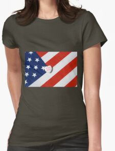 Home Safe Womens Fitted T-Shirt