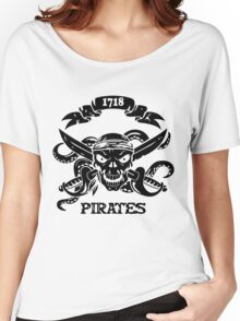 Killer Pirate Funny Men's Tshirt Women's Relaxed Fit T-Shirt