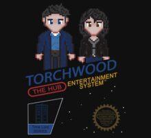 NINTENDO: NES Torchwood  Kids Tee