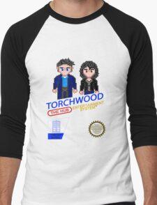 NINTENDO: NES Torchwood  Men's Baseball ¾ T-Shirt