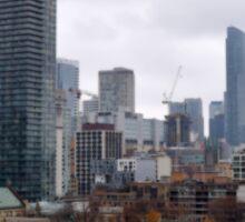 Toronto Urban Skyline Sticker