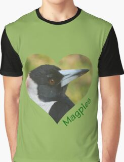 Love Magpies Graphic T-Shirt