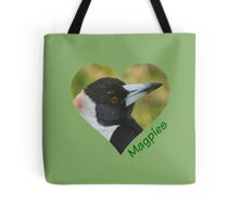 Love Magpies Tote Bag