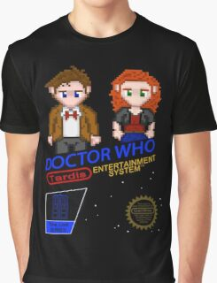NINTENDO: NES DOCTOR WHO Graphic T-Shirt