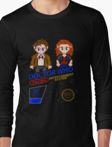 NINTENDO: NES DOCTOR WHO Long Sleeve T-Shirt