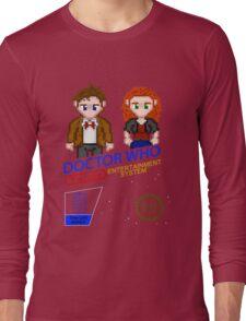 NINTENDO: NES DOCTOR WHO Long Sleeve T-Shirt