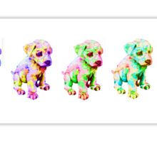 Rainbow Puppies Sticker