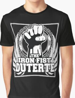 DUTERTE THE IRON FIST Graphic T-Shirt