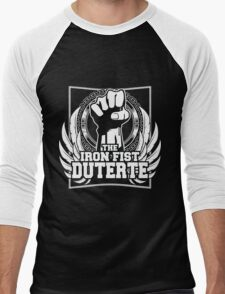 DUTERTE THE IRON FIST Men's Baseball ¾ T-Shirt