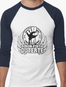 DUTERTE THE IRON FIST Men's Baseball ¾ T-Shirt