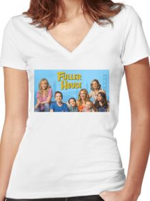 Fuller House Women's Fitted V-Neck T-Shirt
