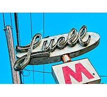 Luell Motel Photographic Print