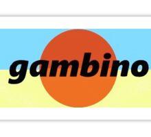 gambino kauai Sticker