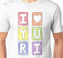 """I Love Yuri"" Comic Panels in English by Althea Keaton  Unisex T-Shirt"