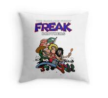 Fabulous Freak Brothers Throw Pillow