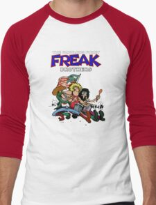 Fabulous Freak Brothers Men's Baseball ¾ T-Shirt
