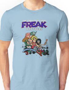 Fabulous Freak Brothers Unisex T-Shirt