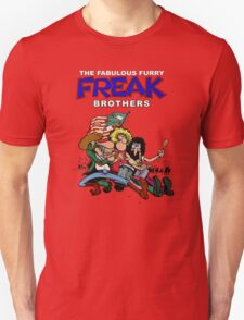 Fabulous Freak Brothers Unisex T-Shirt