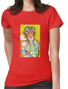 Contort Womens Fitted T-Shirt