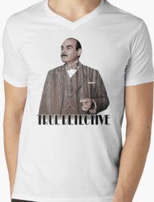 Poirot - True Detective Mens V-Neck T-Shirt