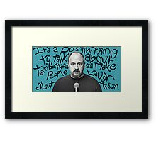 Louis C.K. Framed Print