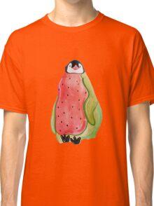 Baby Watermelon Penguin Classic T-Shirt