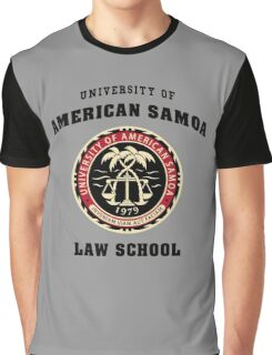 University of American Samoa Law School  Graphic T-Shirt