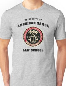 University of American Samoa Law School  Unisex T-Shirt