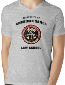 University of American Samoa Law School  Mens V-Neck T-Shirt
