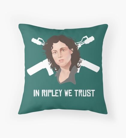 In Ripley We Trust Throw Pillow