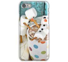 Hot Chocolate and Snowmen iPhone Case/Skin