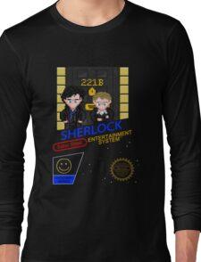 NINTENDO: NES SHERLOCK Long Sleeve T-Shirt