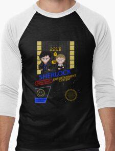 NINTENDO: NES SHERLOCK Men's Baseball ¾ T-Shirt