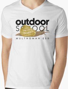 Snail Mens V-Neck T-Shirt