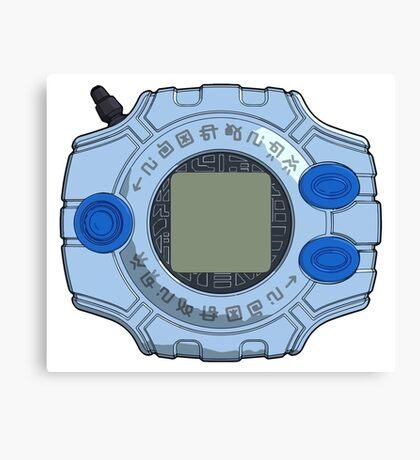 Digimon Adventire tri. Digivice Canvas Print
