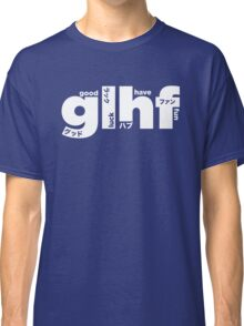 GLHF model 4 - white Classic T-Shirt