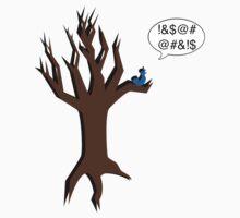 Angry Bluebird Kids Tee