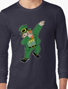 Dabbin' Leprechaun Long Sleeve T-Shirt