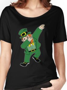 Dabbin' Leprechaun Women's Relaxed Fit T-Shirt