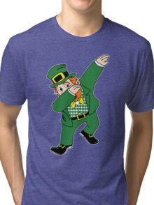 Dabbin' Leprechaun Tri-blend T-Shirt
