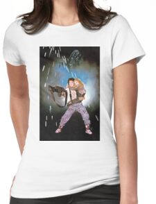 Aliens Ripley and Newt  Womens Fitted T-Shirt