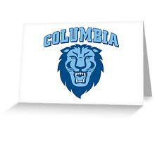 colombia lions Greeting Card