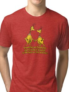 Sneetches are Sneetches Tri-blend T-Shirt