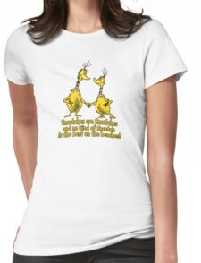 Sneetches are Sneetches Womens Fitted T-Shirt