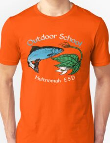 """Salmon Trillium Throwback designed by Vicky """"Ivy"""" Coats T-Shirt"""