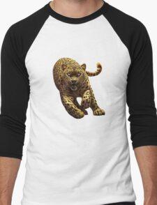 leopard Men's Baseball ¾ T-Shirt