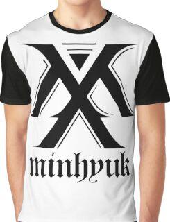 Monsta X logo + Minhyuk Graphic T-Shirt