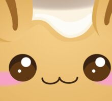 Punny Buns: Cute Cinnamon Bun Sticker