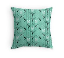 Tulips Pattern Throw Pillow